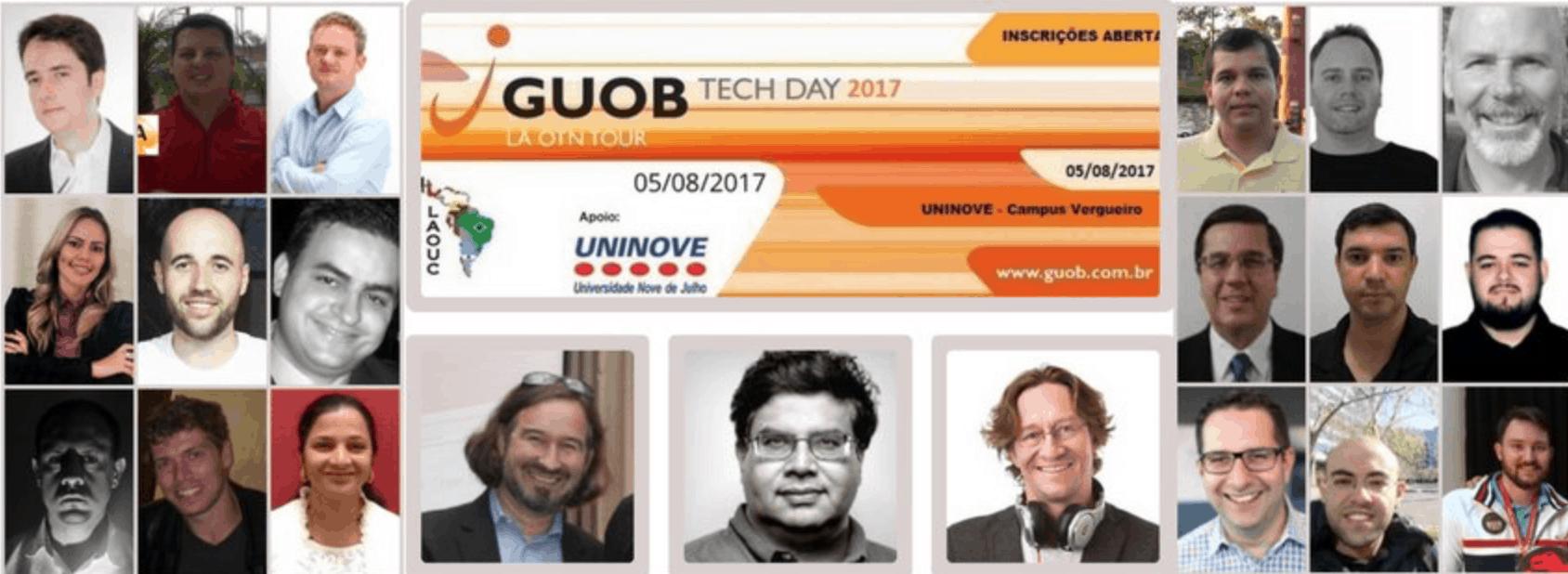 Vem aí: GUOB Tech Day 2017 / LAD OTN Tour