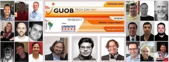 GUOB TechDay 2017: Vou palestrar!