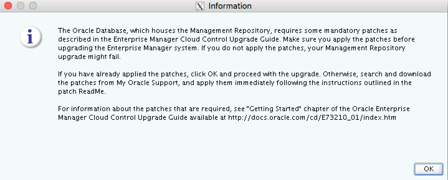 Upgrading to Oracle Enterprise Manager 13 3 (13cR3